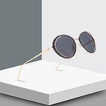 [馳騁]2001現貨7-11全家快速到貨韓國韓版鏡框墨鏡太陽眼鏡鏡框跨境爆款橢圓形摩登復古太陽鏡潮流街拍模特走秀墨鏡24