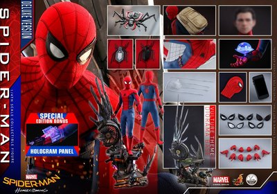 Hot Toys 蜘蛛俠: 強勢回歸 1:4 (豪華版) 動漫單 Spider-Man Home Coming Deluxe With Bouns