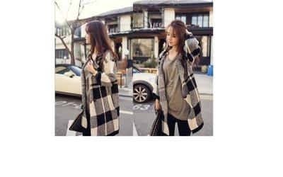 腳踏實地♚2014春裝新款韓版寬鬆韓國大牌氣場寬鬆針織衫毛衣外套