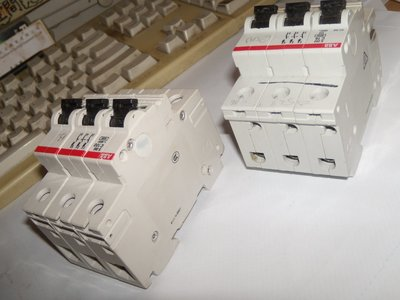 ABB (our ref 13) S283-C100 or (our ref 25A) S253-C16  Isolated Switch