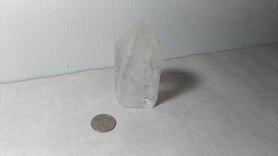 天然白水晶柱~開運能量~重約350克~編號CT15-5