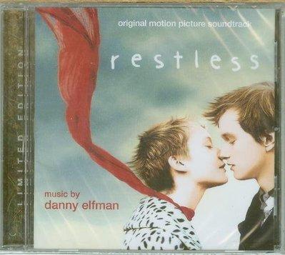 """""""最後一次初戀, 無法安寧(Restless)""""- Danny Elfman,全新美版"""