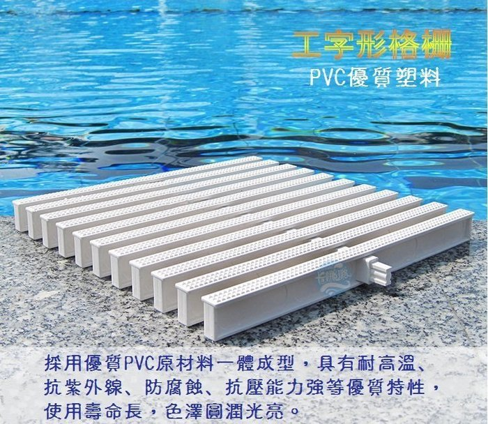 【奇滿來】15cm寬 游泳池 SPA 排水蓋 排水溝蓋 廚房 地溝 蓋板 格栅 溝渠蓋 泳池  15公分寬 AQCS