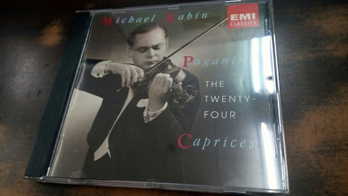 好音悅 Michael Rabin 拉賓 Paganini 帕格尼尼 24首隨想曲 EMI USA 美版 無IFPI