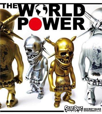 Secret Base X Usugrow Rebel Ink The World Power金+銀