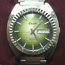 OQ精品腕錶☆瑞士原装EASTO牌 ETA機械式自動上鍊機芯 水晶鏡面 庫存錶全新品☆38MM