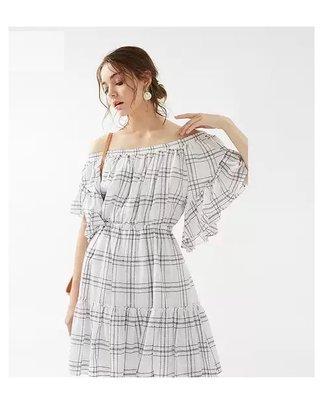 【WildLady】 日本超美面料皺褶優雅連身裙 洋裝 snide ray