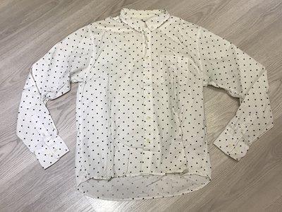 日本品牌 限定 design tshirts store graniph apple 蘋果 點點 長袖襯衫