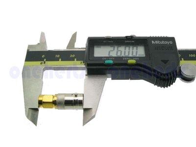 鍍金BNC 母 轉 SMA 公 BNC-SMA SMA 公頭轉 BNC 母頭 射頻同軸 連接器 RF 接頭