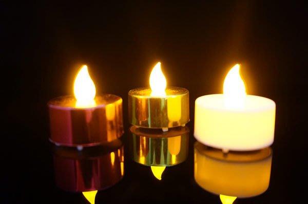 發光派對屋(西門中華店)@LED電子蠟燭(白殼黃光)