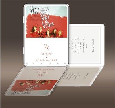 fx f(x) 函數 宋茜 秀晶 雪莉 明信片 (翻蓋鐵盒收納),照片寫真,高清印刷,大尺寸,25張入