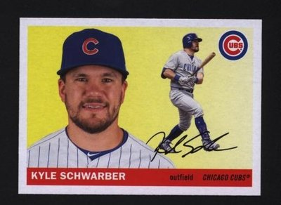 2020 Topps Archives #8 Kyle Schwarber - Chicago Cubs