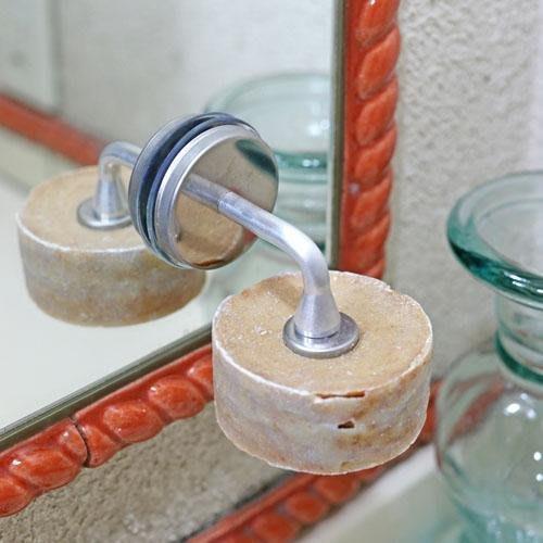 日本 Dulton 磁鐵復古金屬肥皂架
