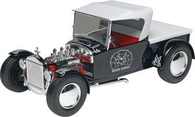 利華Revell拼裝汽車模型85-4324 1/24 Black Widow HotRod 老爺車