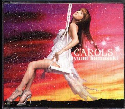 K - Ayumi Hamasaki 浜崎あゆみ - CAROLS - 日版 濱崎步 CD+DVD