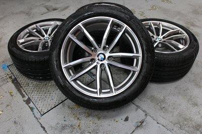 蓋世輪 原廠BMW G30 18吋M版鋁圈輪胎(新車拆)售40000