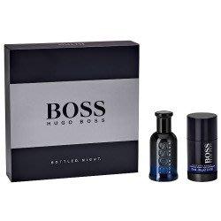 BOSS 夜自信禮盒(香水50ML+體香膏75ML)【小7美妝】