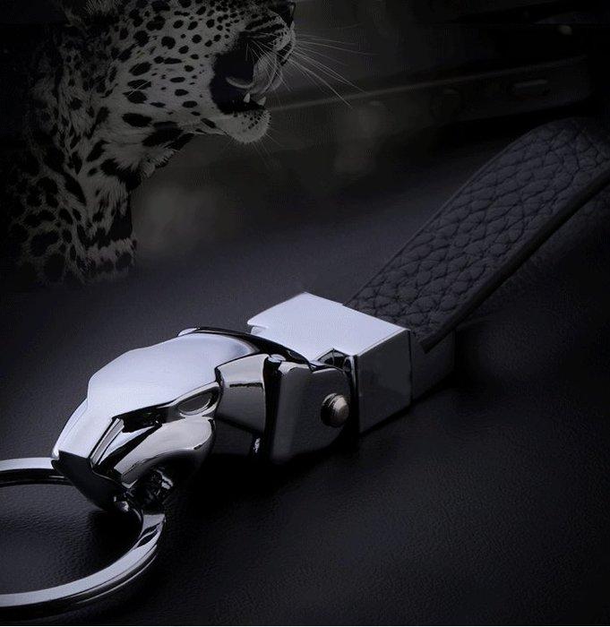 豹子頭男士腰掛鑰匙扣個性汽車鑰匙扣