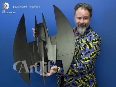 ArtLife @ DC Batman 蝙蝠俠漫畫版 Animated Batwing Vehicle 蝙蝠飛機