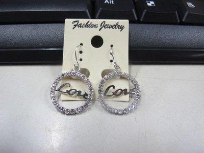 二手舖 NO.4509 時尚造型耳環 耳針 耳鉤 便宜賣 首飾飾品