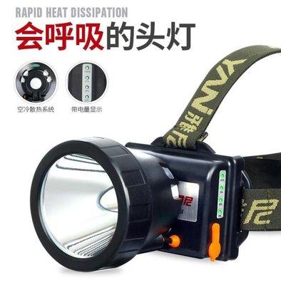 LED頭燈強光充電頭戴式手電筒
