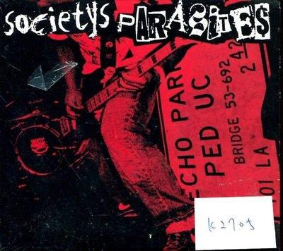 *真音樂* SOCIETYS PARASITES 全新 K2705(清倉.下標賣4)