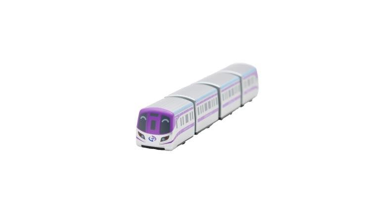 TRAIL 鐵支路 Q版 迴力小列車 桃園機場捷運 直達列車 QV058T1
