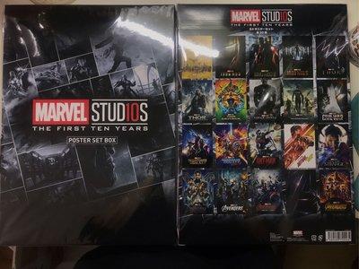 現貨✨ Marvel Studios 10週年海報Set 日本限定✨
