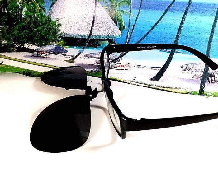 天王星 偏光太陽眼鏡夾片 飛行員款(大) 58MM 掛式太陽眼鏡  偏光夾片/ 夾式太陽眼鏡 今夏必備 開車 休閒必備