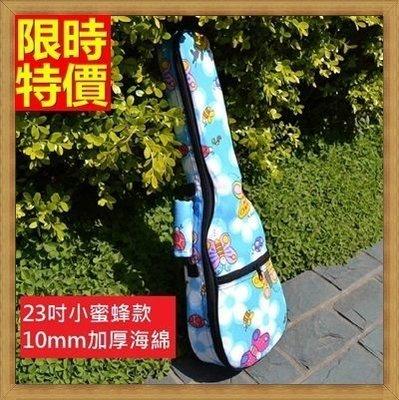 烏克麗麗包 ukulele 琴包配件-23吋可愛小蜜蜂加厚帆布手提背包保護袋琴袋琴套69y25[獨家進口][米蘭精品]