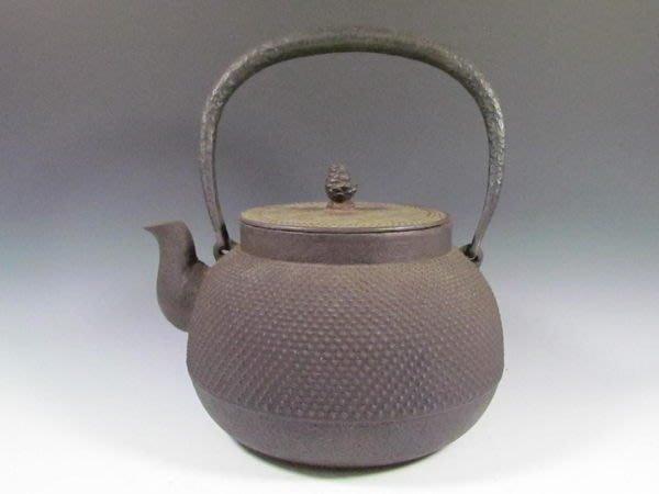可以堂普洱茶苑 日本 茶道具鐵壺 圓滿壺南部鐵器 !