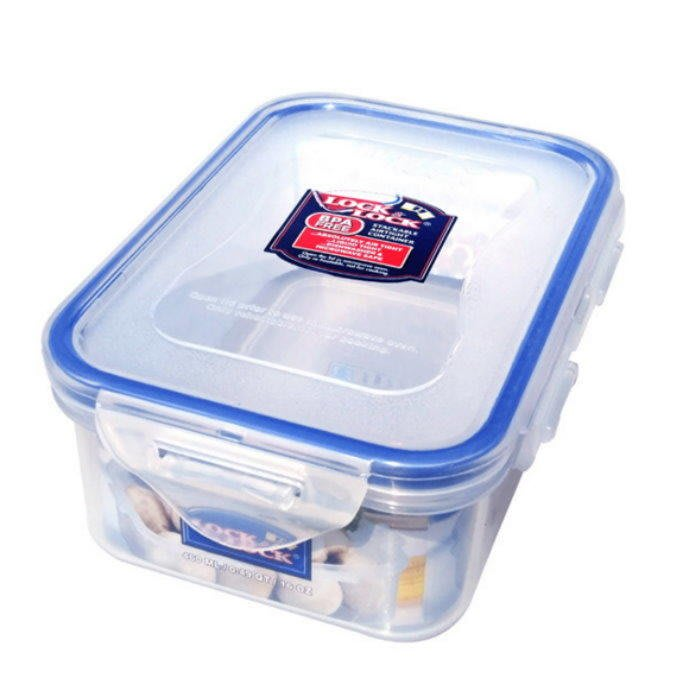 LOCK & LOCK 樂扣樂扣保鮮盒HPL814『方形460ML』 密封盒 微波盒【GD244】☆EZ生活館☆