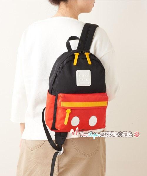 (現貨在台)日本正品Disney 迪士尼 CILOCALA 後背包 雙肩包 隨身包 旅行 米奇 Mickey 黑色 M號