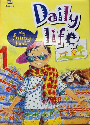 全新 Yomei 出版 My Funny Book Daily Life,含4書4CD,低價起標無底價! 2/2,免運!