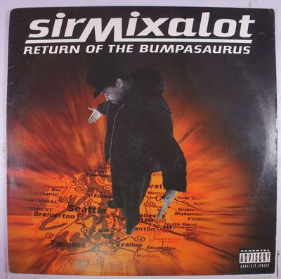 《二手美版黑膠》Sir Mix-A-Lot - Return Of The Bumpasaurus