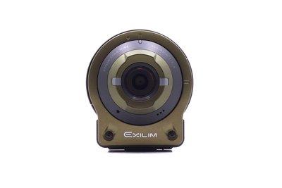 【台中青蘋果】Casio FR10 FR-10 綠 分離式運動相機 二手 數位相機 #22726