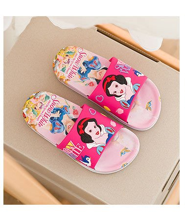 [木馬家](15.5公分~20.5公分)公主卡通拖鞋