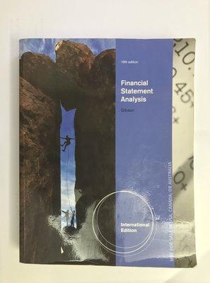 Financial Statement Analysis 13版  作者:Charles H. Gibson