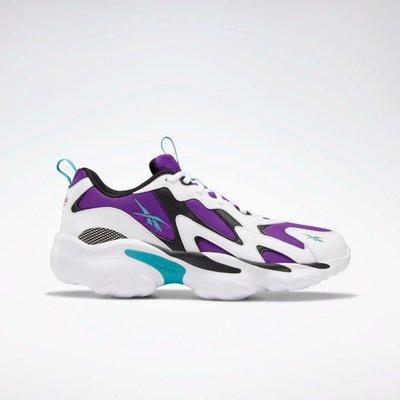 Reebok Classic 全新 DMX SERIES 1000 白色 紫/藍綠 運動鞋 休閒鞋 老爹鞋 DV8743