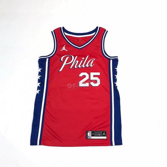 【Dr.Shoes】Nike NBA 76人 SIXERS 七六人SIMMONS #25 球衣 CV9490-660