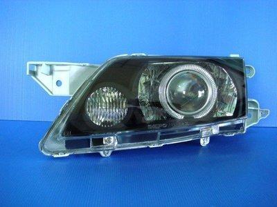 小亞車燈╠ 全新手工版 PREMACY 2.0/1.8 燻黑 H7 LED 光圈 魚眼 大燈