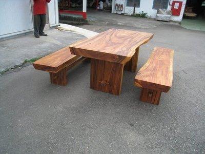 幸福家傢俱 大木頭餐椅(BENCH-1) (厚10cm , 無拼接) 不含桌子