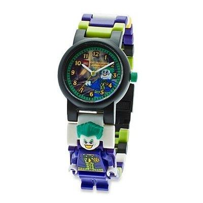 現貨【LEGO 樂高】100% 全新現貨/ 小丑手錶 DC超級英雄 小丑 The Joker 人偶手錶 公仔 含原廠盒