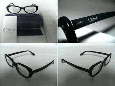 【信義計劃】全新真品Chloe 眼鏡 可配高度數小框 義大利製 搭配襯衫皮帶皮鞋包包T恤