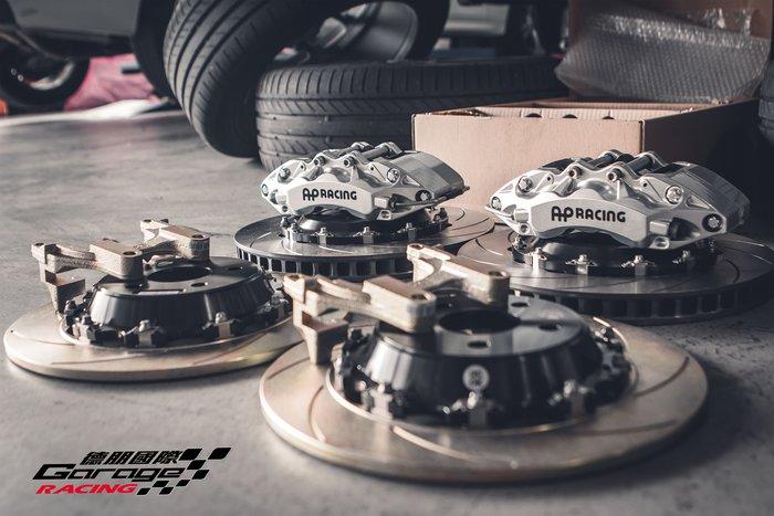 德朋國際 /Volkswagen NewTiguan 前AP CP-9040 六活塞卡鉗 後K-SPORT 後加大碟