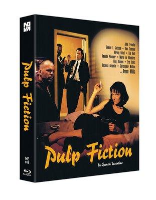 毛毛小舖--藍光BD 黑色追緝令 雙碟幻彩盒限量鐵盒版(中文字幕) Pulp Fiction 昆汀塔倫提諾