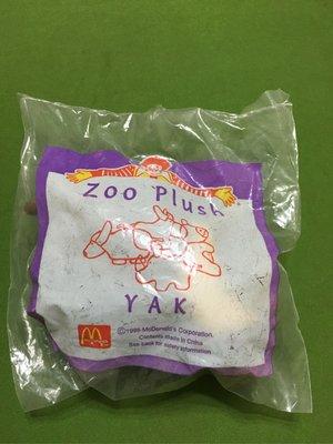 麥當勞1996年小小犛牛單賣69元