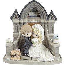 Precious Moments 陶瓷公仔 结婚 Marriage Wedding Love