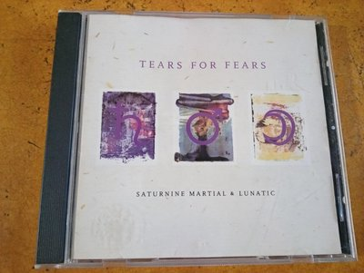 西洋 CD《Tears For Fears - Saturnine Martial & Lunatic》德版、馬英九簽名
