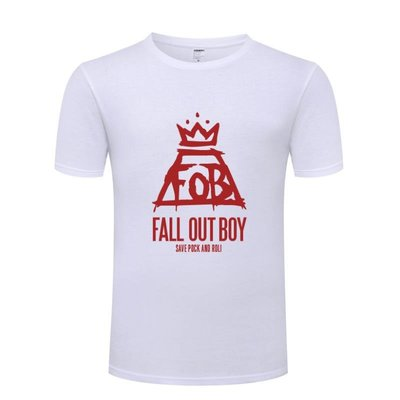 男式T恤 打倒男孩  FOB Fall Out Boy 流行朋克搖滾 judoo